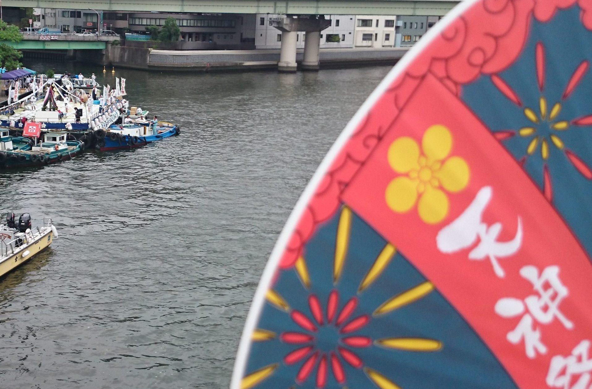 毎年恒例「大阪 天神祭」