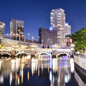 大阪夜景観光  貸切バスで周遊